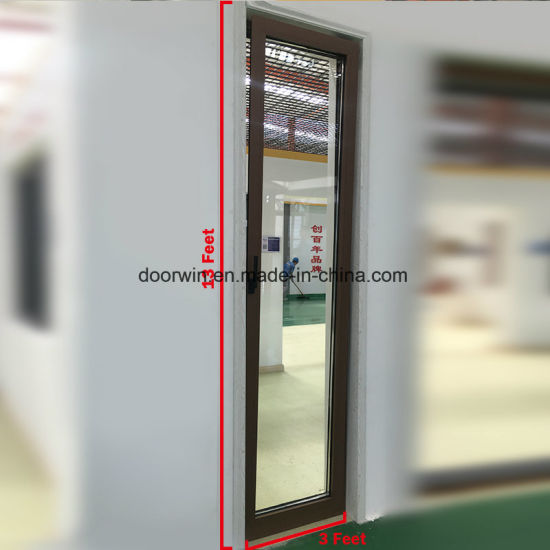 Ultra High Tilt Turn Thermal Break Aluminum Window - China Tilt and Turn Window, Casement Window