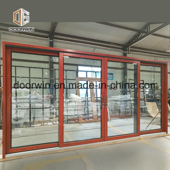 Ultra Large Good View Lift Sliding Door, Convenient and Easy Opening Sliding Hollow Tempered Glass Doors - China Wood Door, Solid Wood Door