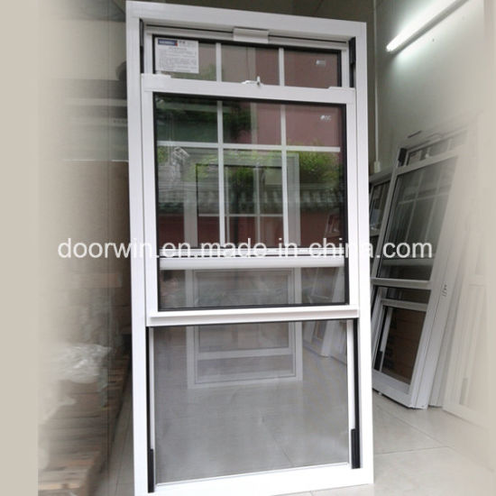 Ultra-Large Type Single Hung Thermal Break Aluminum Window Export to USA/America, American Window Grille Design - China Aluminum Window, Glass Window