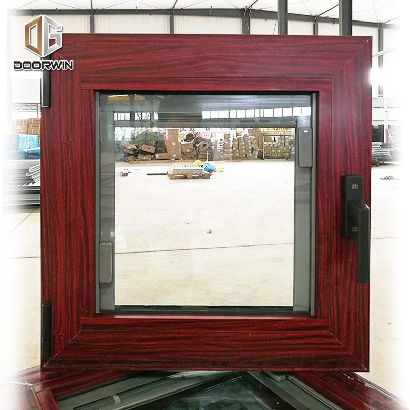 Vancouver best wood effect double glazed extrudied energy saving aluminum windows