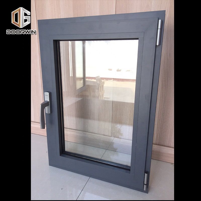 Vancouver wholesale high quality double glazed thermal insulated aluminum window NAMI