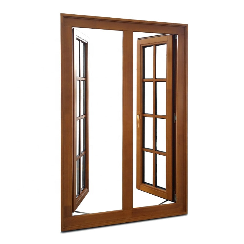 Washington commercial 3x4 french casement window aluminium frame glass windows by Doorwin