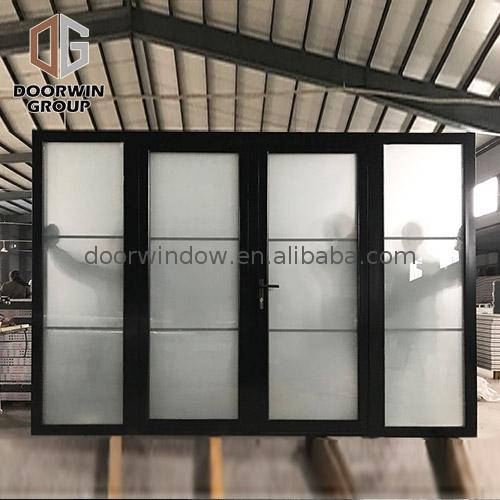 Western bar doors water resistant door villa entrance aluminum design by Doorwin on Alibaba