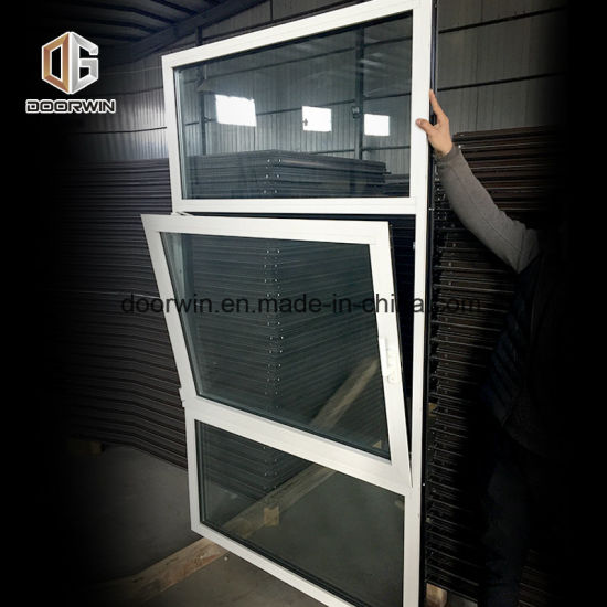 White Black Aluminum Tilt and Turn Window with Double Glass - China Fire Rated Fixed Window, Fire Window