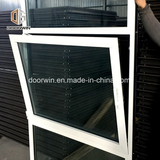 White Black Aluminum Window, Cheap Aluminum Tilt & Turn Window - China French Window Treatments, Frosted Glass Window