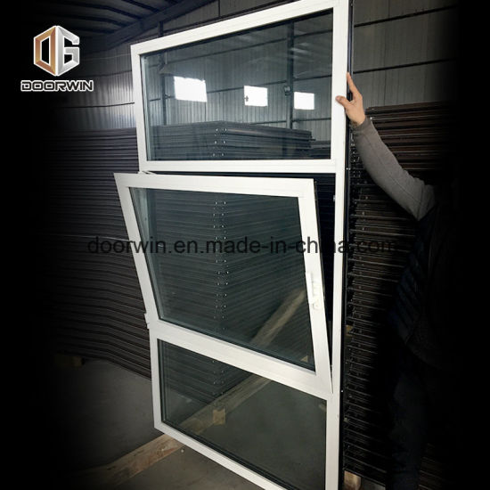 White Black Thermal Break Aluminum Window - China Inswing Casement Windows and Doors, Inswing Casement Windows and Doors with