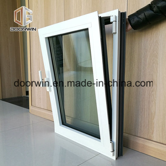 White Color Casement Window with Double Glazing - China Aluminum Alloy Window, Used Commercial Windows