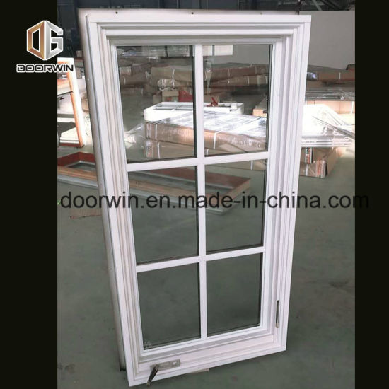 White Solid Wood Crank Casement Window - China Aluminium Crank Windows, Window
