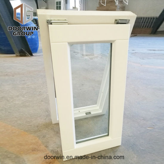 White Stain Finish Color Awning Window - China Awning, Top  Hung  Window