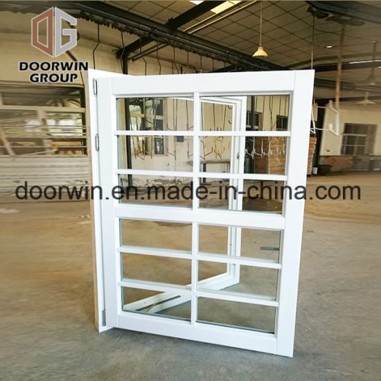 White Stain Finish Color Casement Window - China Awning Windows with Australia Standard, Cheap Chain Awning Window