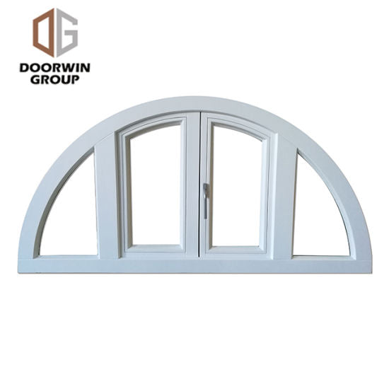 White Stain Finish Color French Window - China Aluminum Arch Window, Aluminum Window Frame