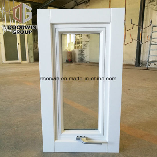 White Stain Finish Color Window - China High Quality Awning Window with Hollow Glass, Opening Aluminum Awning Window