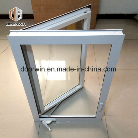 White Thermal Break Aluminum Crank Open Window - China Crank Window Grill Design, Canada Aluminum Window