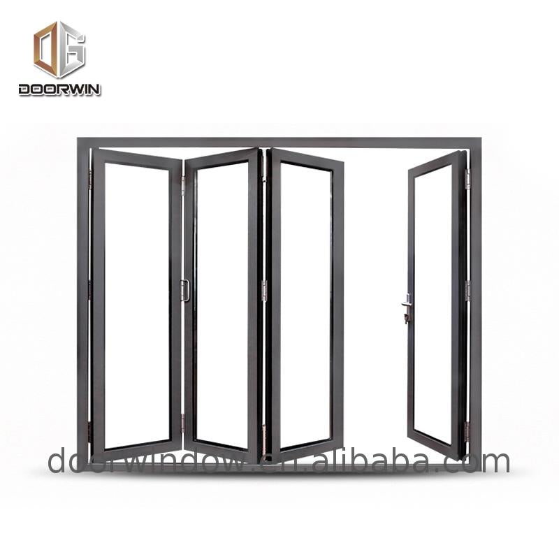 Wholesale double glazed bifold doors folding patio