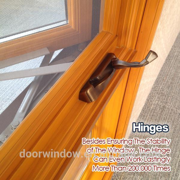 DOORWIN 2021Wholesale price wood Crank Casement windows -American style casement