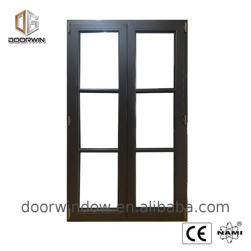 DOORWIN 2021Wholesale price casement fixed window aluminum hopper acoustic