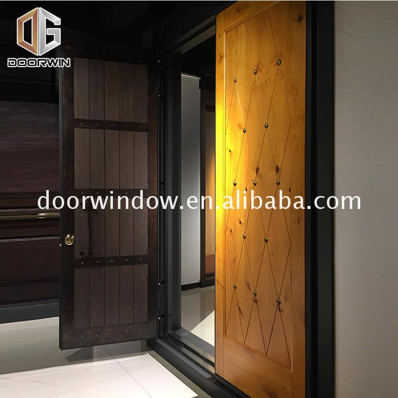 Wholesale price solid oak panel doors front for sale homes