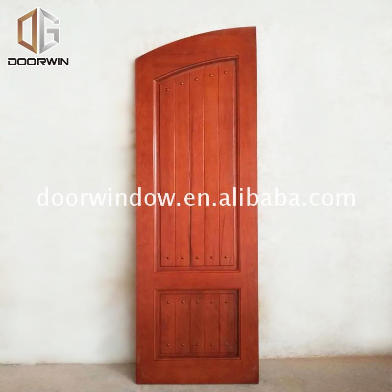 Wholesale price solid wood french doors exterior front double