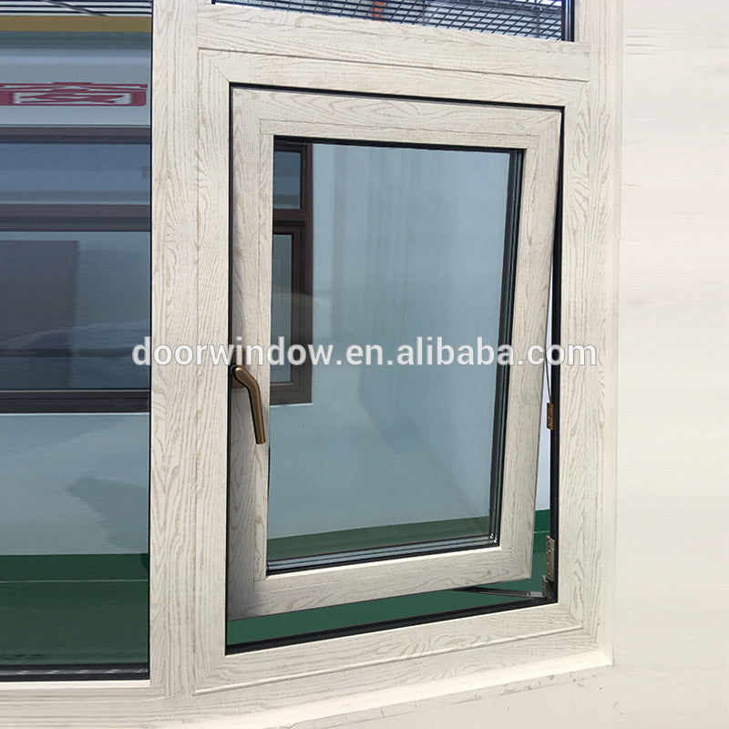 Wholesale price two way opening casement window free sample windows double glaze