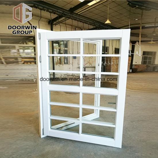 Window with Decorative Grille - China French Standard Awning Windows, French Style Awning Windows