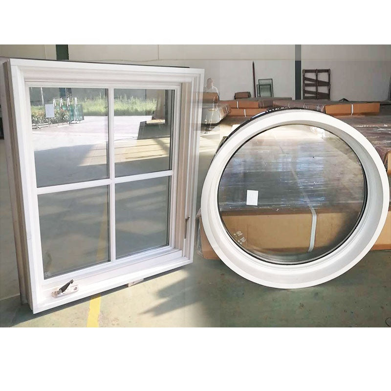 Window with black color arch top treatments for arched windows by Doorwin on Alibaba