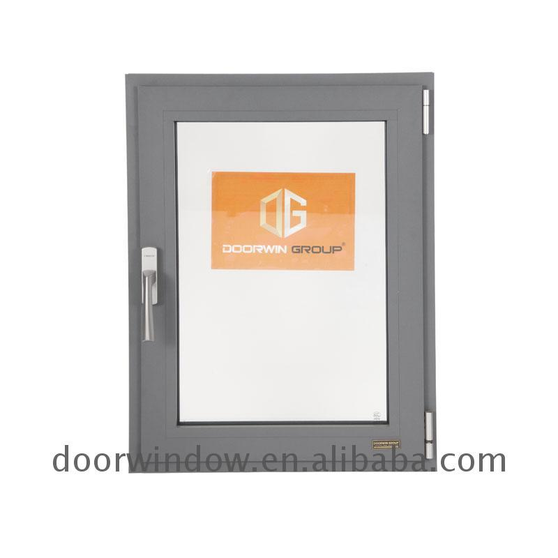 DOORWIN 2021Windows for house double glazed top quality aluminum