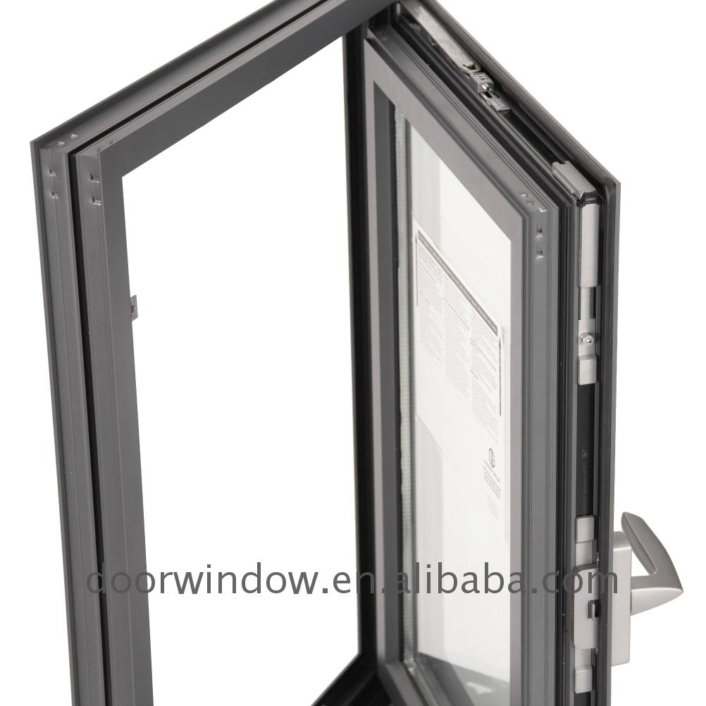 Windows for house double glazed top quality aluminum