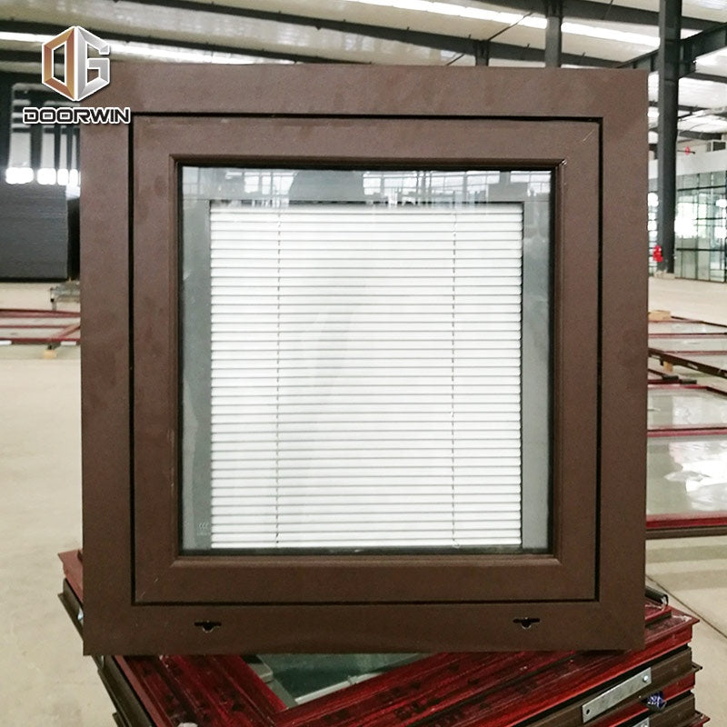 Windsor cheap best wood effect double glazed extruded energy saving aluminum windows
