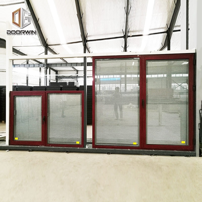 Windsor wholesale best wood effect double glazed extruded energy saving aluminum windows
