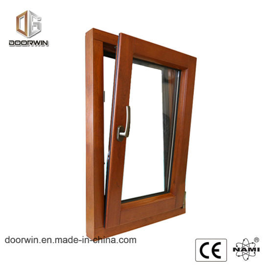 Wood Aluminum Tilt and Turn Window - China Aluminum Window, Teak Wood Window