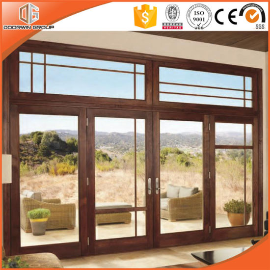 Wood Cladding Aluminum Windows and Doors Made in China - China Wood Cladding Aluminum Window, Wood Color Aluminum Window