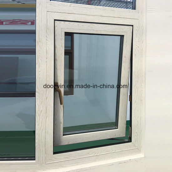 Wood Grain Finishing Awning Window - China White Aluminum Windows, Push Open Windows