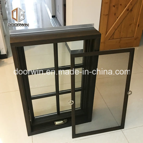 Wood Window, American Style Foldable Crank Handle Aluminum Clad Wood Casement Window - China Aluminum Window, Window