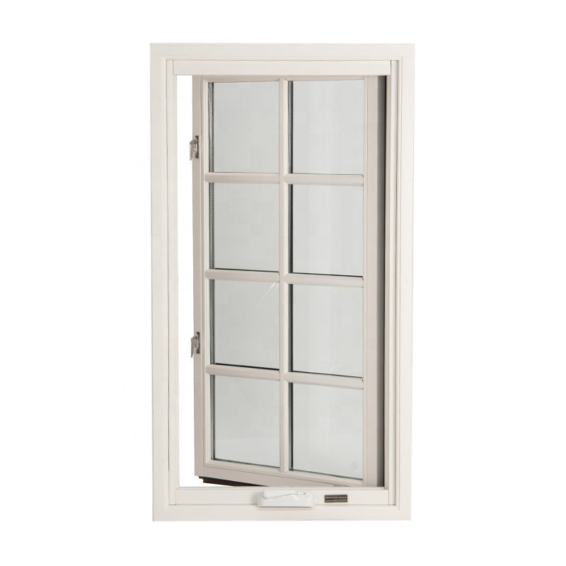 Wood and aluminum window aluminium windows doors with grill designby Doorwin on Alibaba