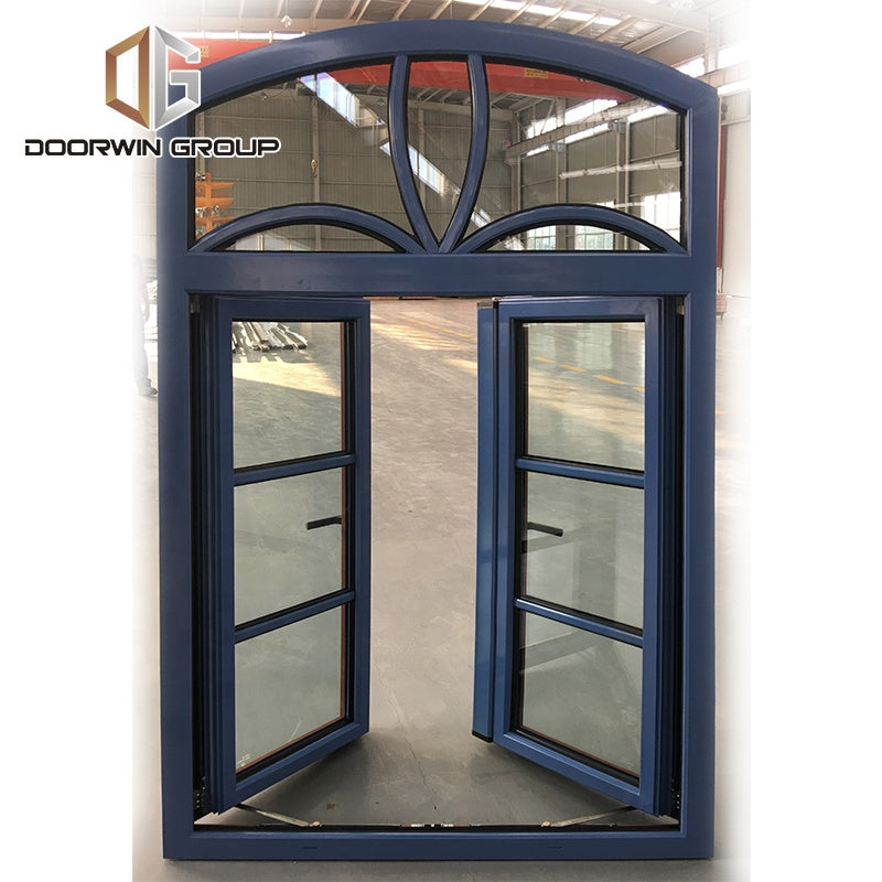 Wood arched simple designs glass window by Doorwin on Alibaba