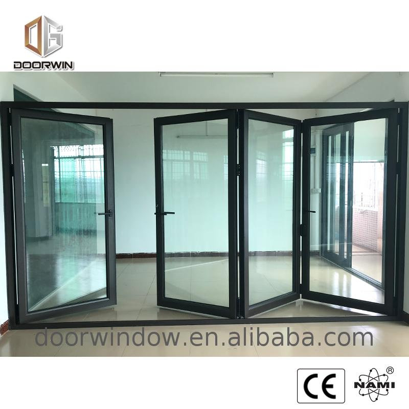 Wood grain aluminium frame glass doors and bi-fold door waterproof toilet alloy casement windows
