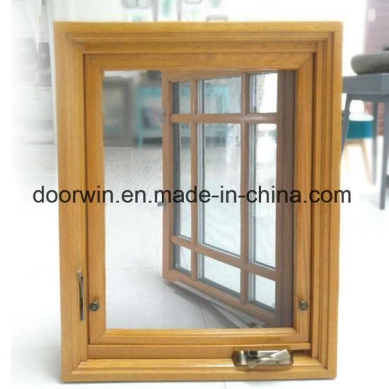 DOORWIN 2021Wood with Aluminum Clading Window - China Aluminium Crank Windows, Awning Window Crank