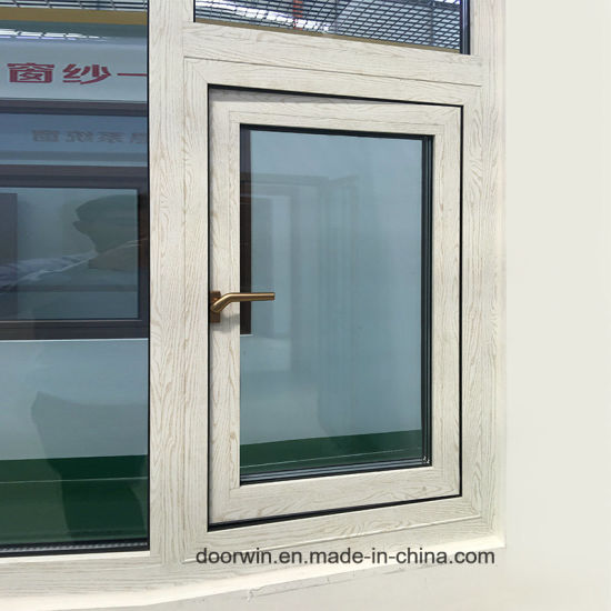 Wooden Color out-Swing Awning Window with Wood Grain Finishing - China Wooden Color Swing Window, Single Pane Windows