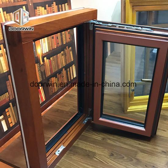 DOORWIN 2021Wooden Windows Pictures Window Frames Designs - China Commercial Windows, Double Glazed Window