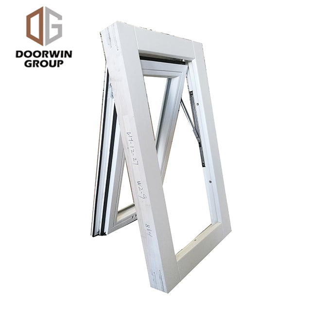 white stain finish color awning window