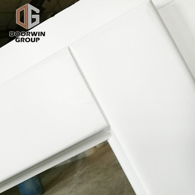hot sale White stain finish color awning window