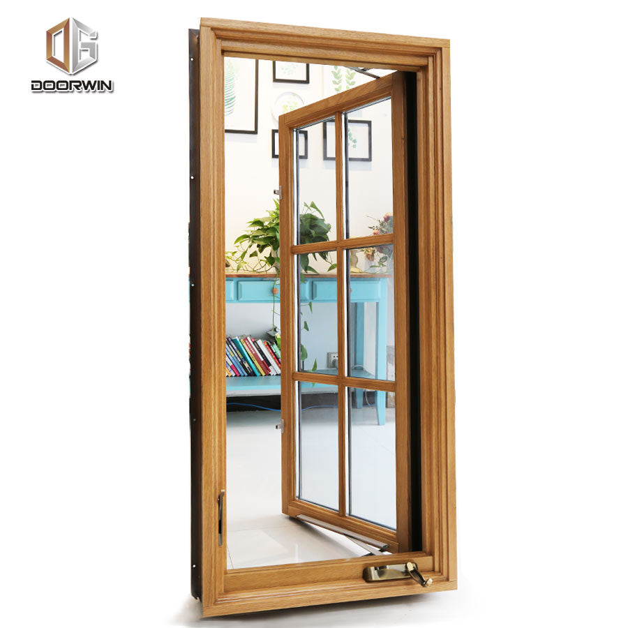 crank open window-aluminum clad wood window