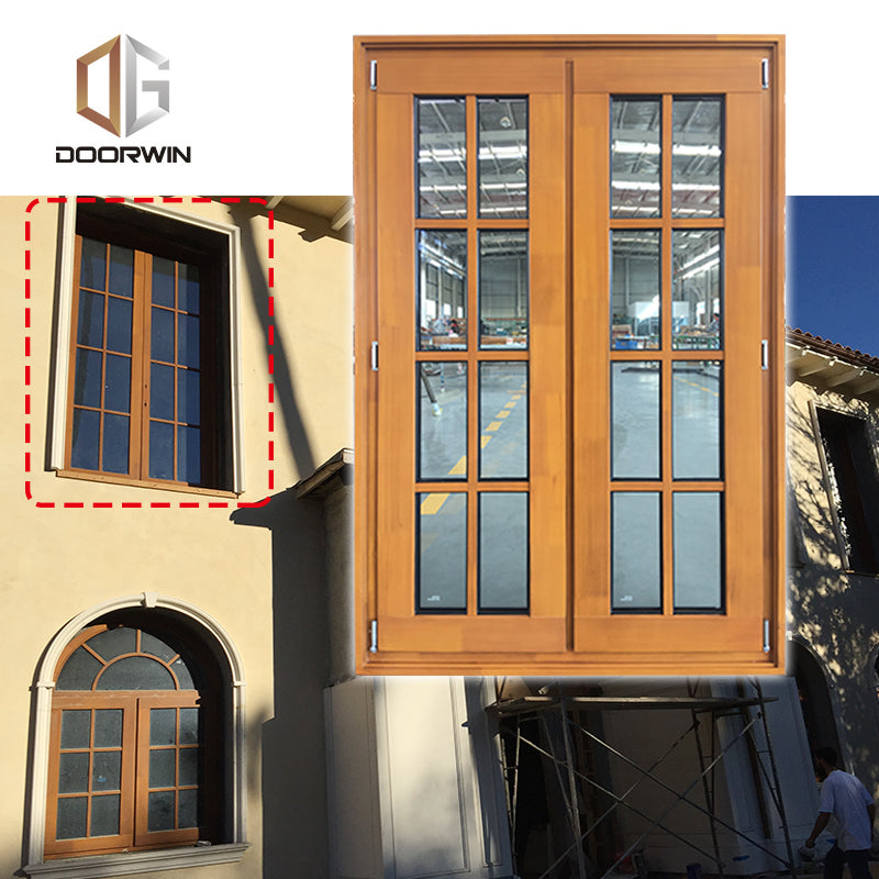 grille round-top casement window solid pine wood larch wood