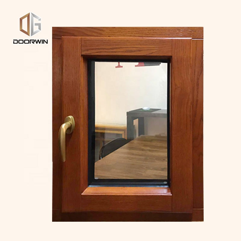 high quality wood profile tilt and turn window