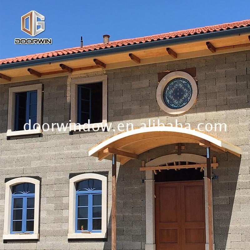 hot sale wooden aluminium windows with factory price