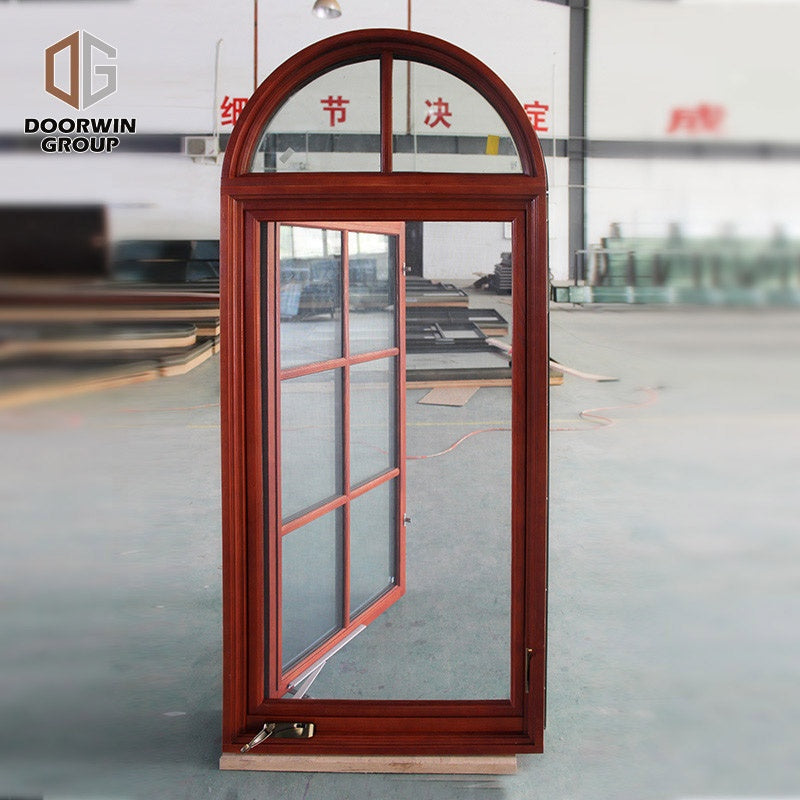 security grill-iron design crank window by Doorwin on Alibaba