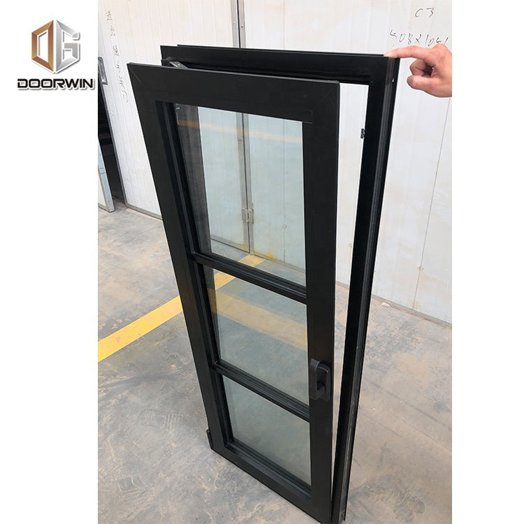 usa building code custom design Diy commercial aluminium window frames by Doorwin on Alibaba