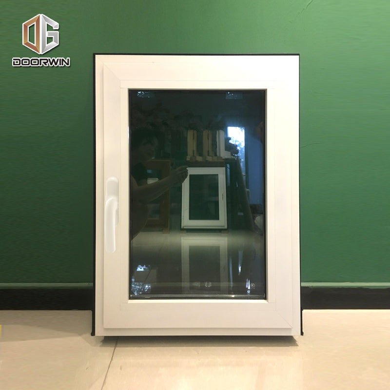 Thermal break aluminum white powder coating finishing tilt turn window