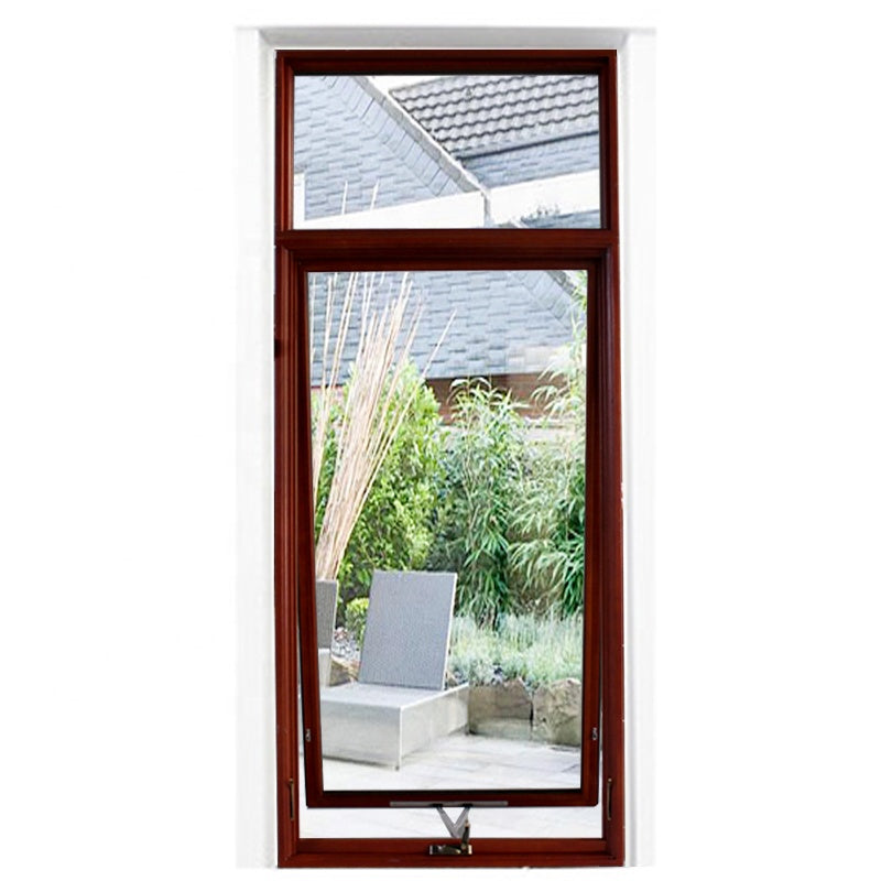 wood aluminium awning window