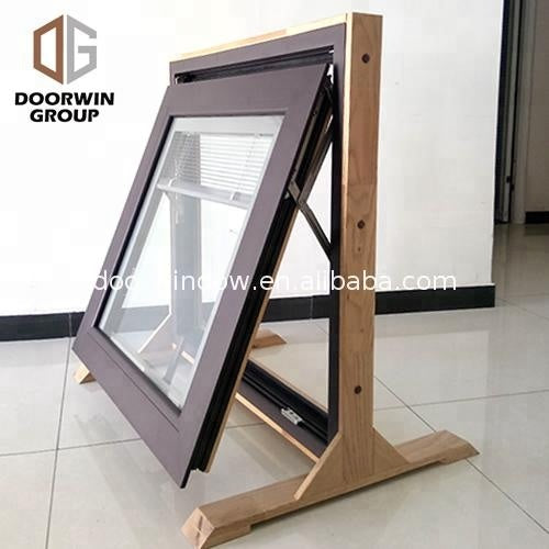 wood frame shutters awning window by Doorwin on Alibaba